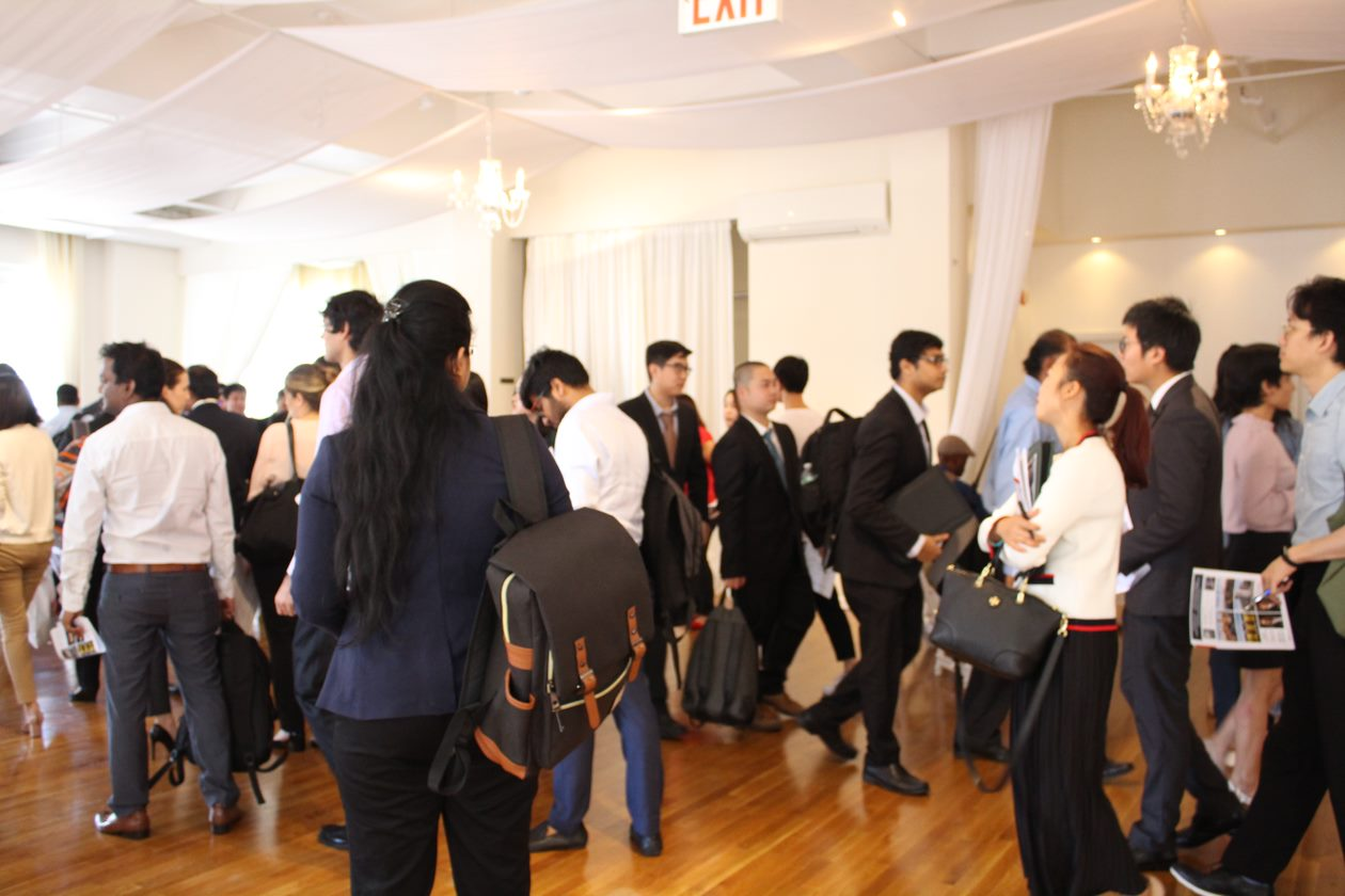 H1B Career Fair-flow